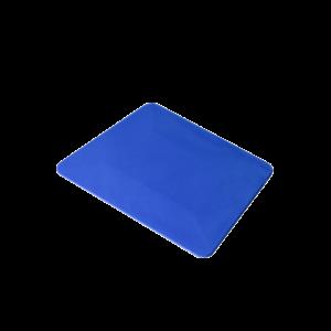 raclette carte souple bleue